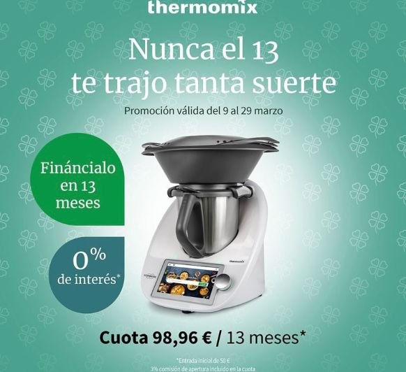 O% Thermomix® SIN INTERESES