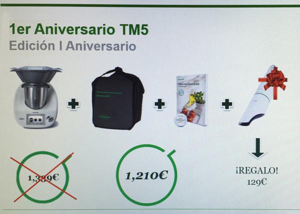 1er aniversario Thermomix® TM5