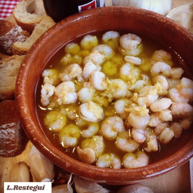 Gambas Al Ajillo Pescados Y Mariscos Blog De Mª Luisa Restegui Rebolledo De Thermomix Santander