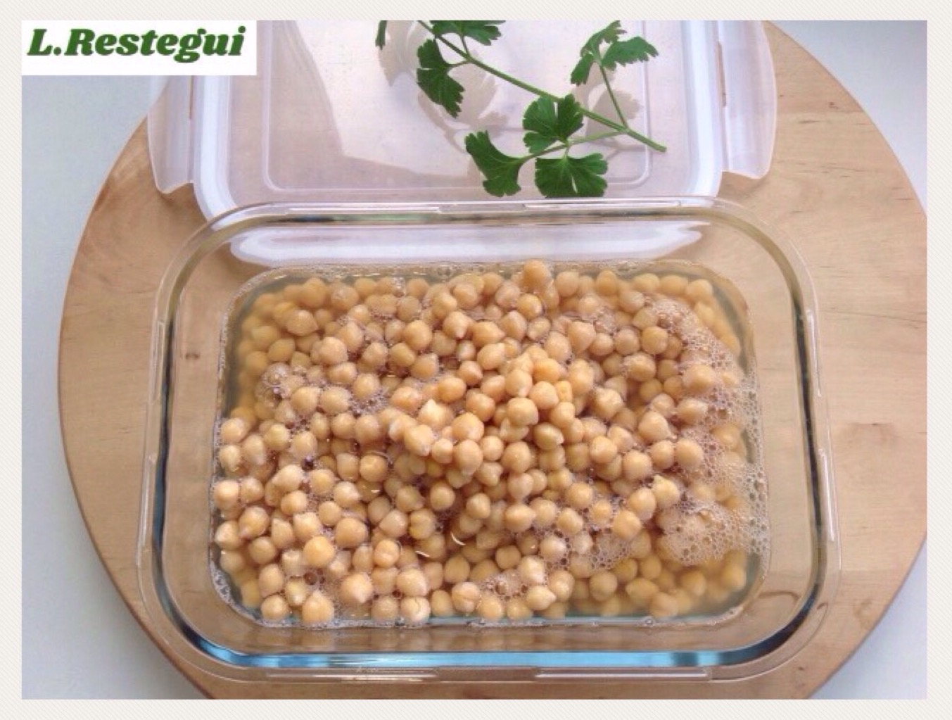 Cocer garbanzos en Thermomix®
