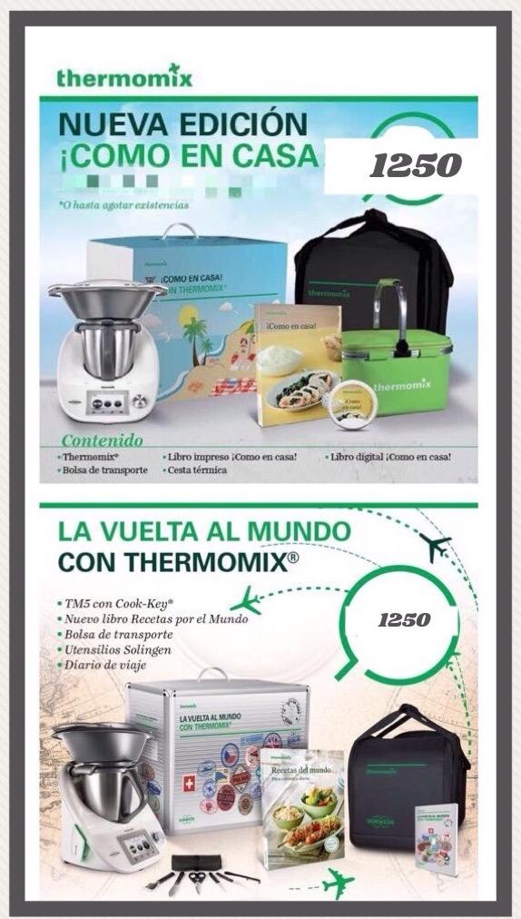 Thermomix® contrarreloj y por solo 51€ más, elige entre estos 2 packs
