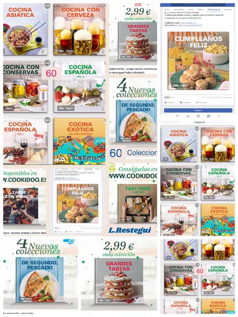 Todas tus recetas, colecciones y favoritos en tu cook-key