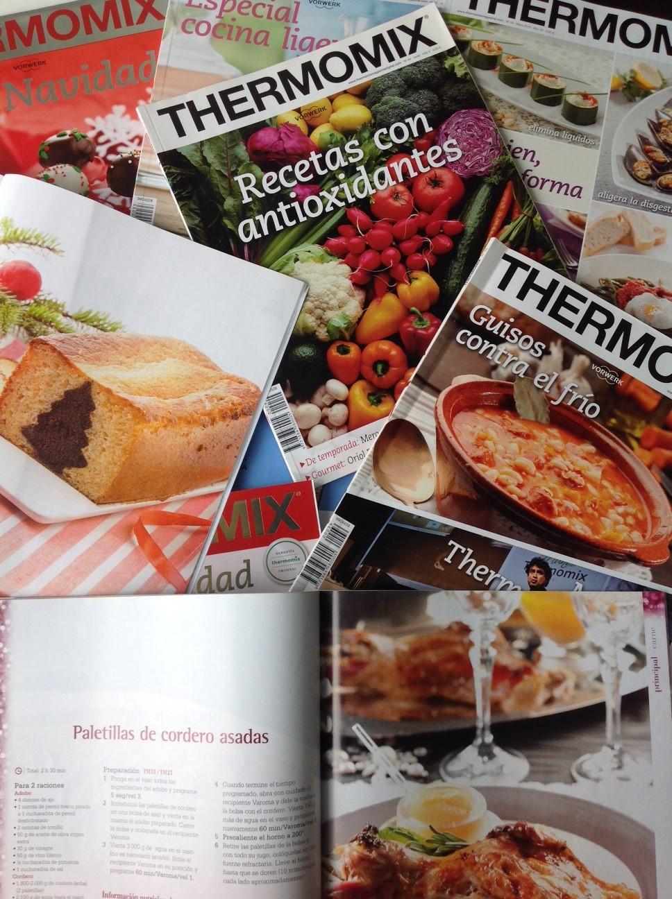 Oportunidad:Suscripción express--edición impresa Thermomix® Magazine