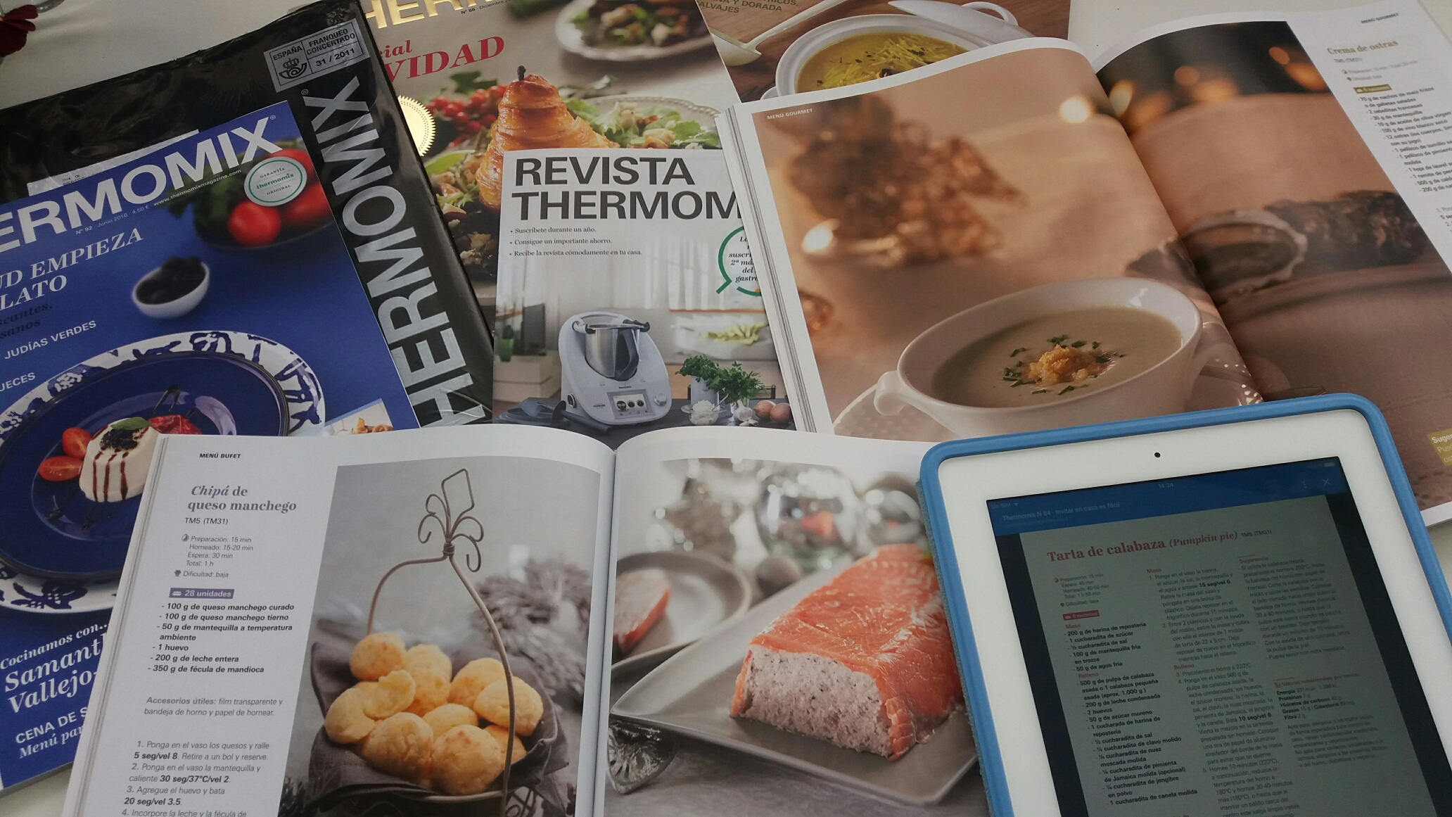 Noticias Thermomix® Magazine: Suscripción express