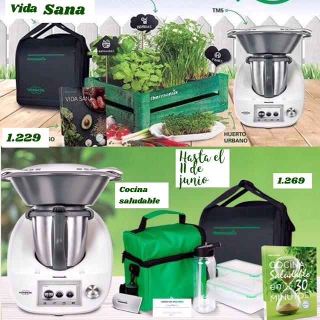 2 Ediciones Para Elegir Edición Vida Sana Y Edición Cocina Saludable Noticias Blog Blog De Mª Luisa Restegui Rebolledo De Thermomix Santander