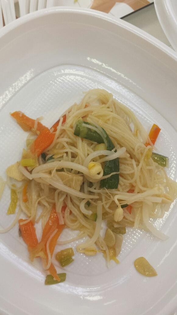 Fideos Orientales de Arroz (o Soja) con verduras con Thermomix®