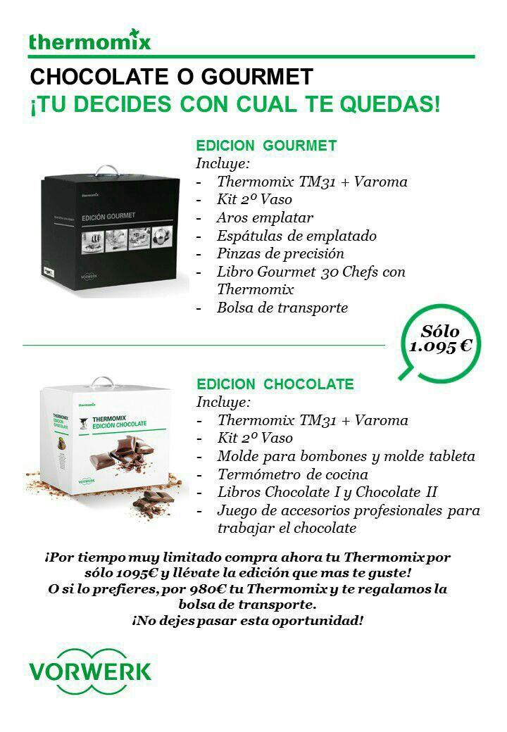 Nueva Promoción con Ediciones Limitadas Thermomix®