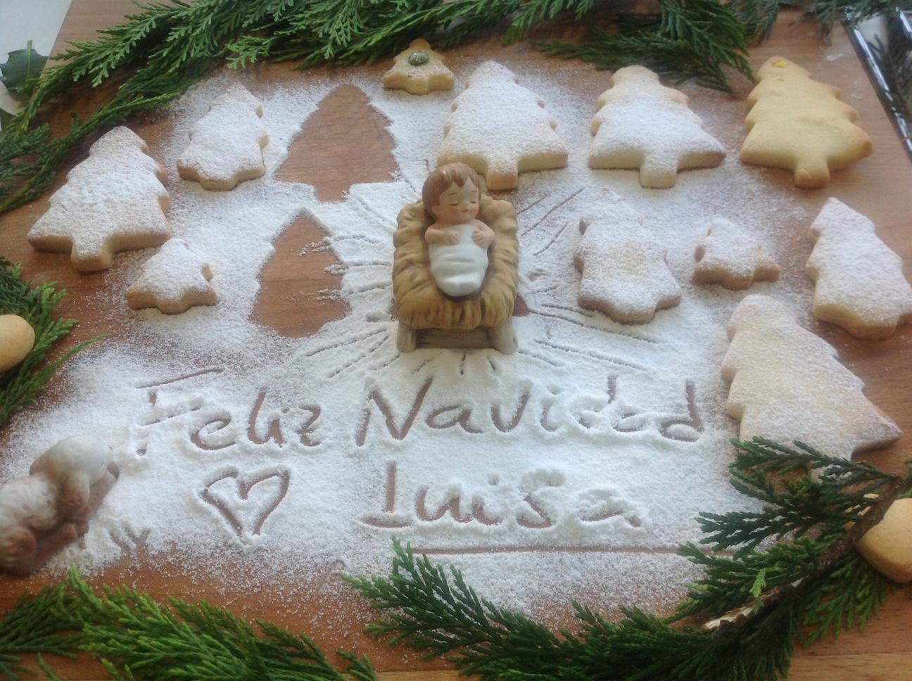 ¡¡¡¡¡ Feliz Navidad !!!!! Pastas de mantequilla