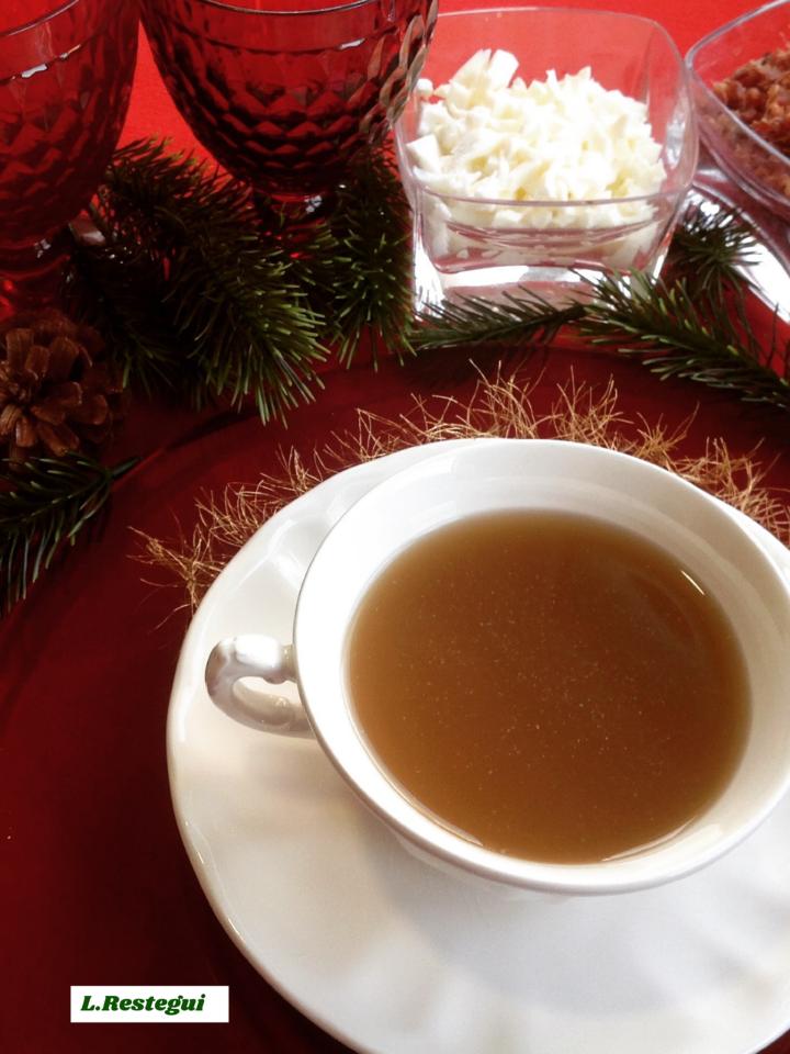 Consom de ternera ilustrado sopas y cremas blog de m for Consome de navidad