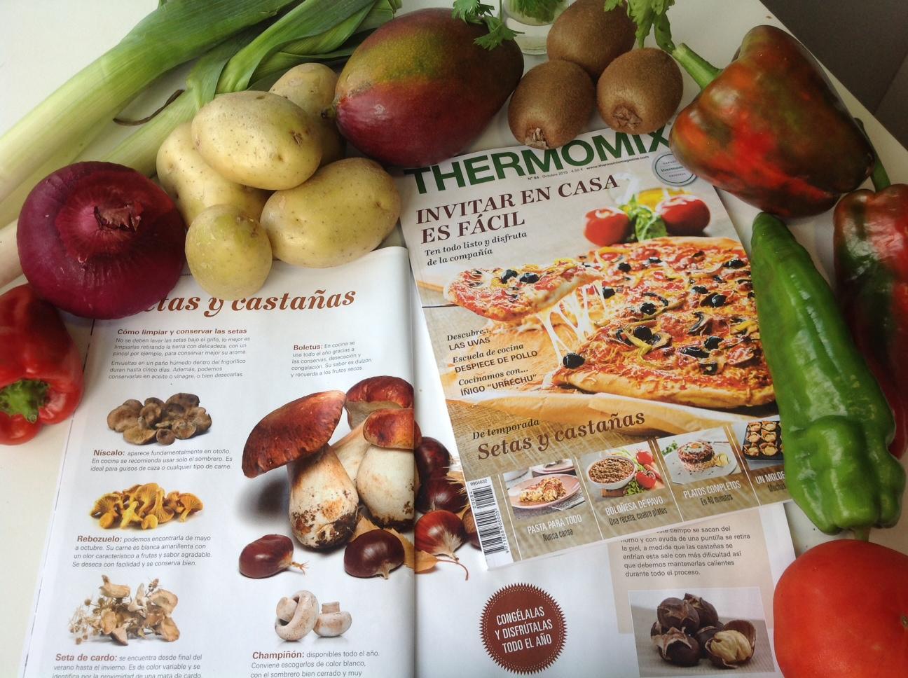 Suscripción express--edición impresa Thermomix® Magazine con regalo suscripción digital