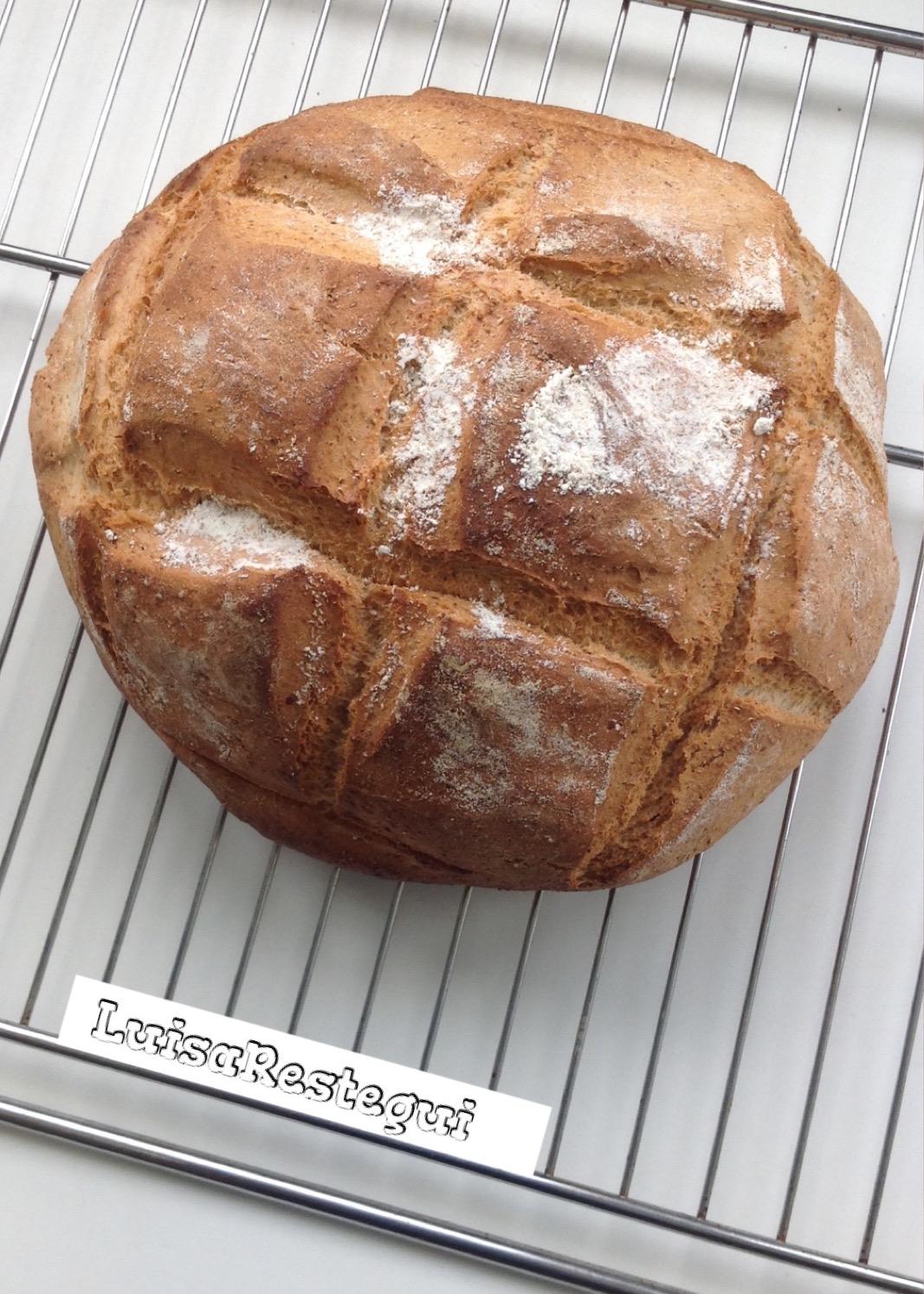 pan integral receta con levadura fresca