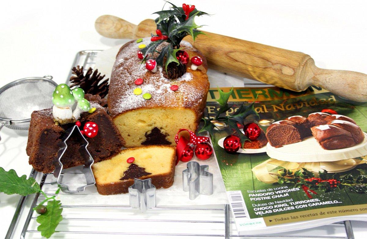 Cake Sorpresa, de la revista Thermomix® Navidad