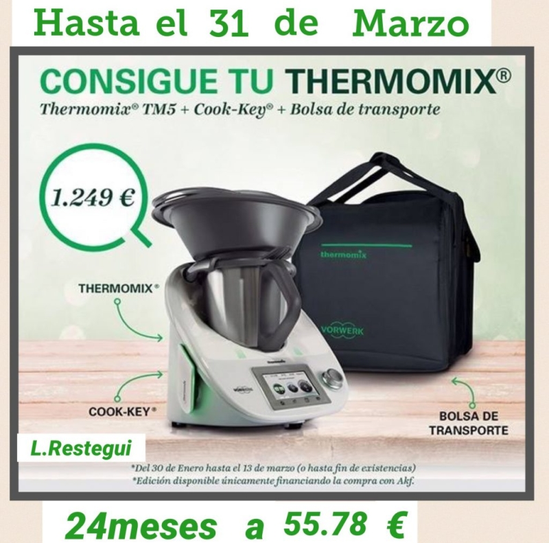 Thermomix® TM5 y cook-key