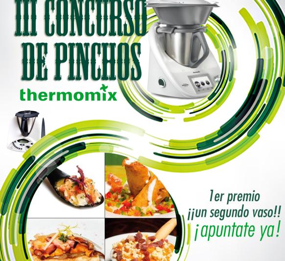 III concurso de pinchos en Thermomix® Cantabria