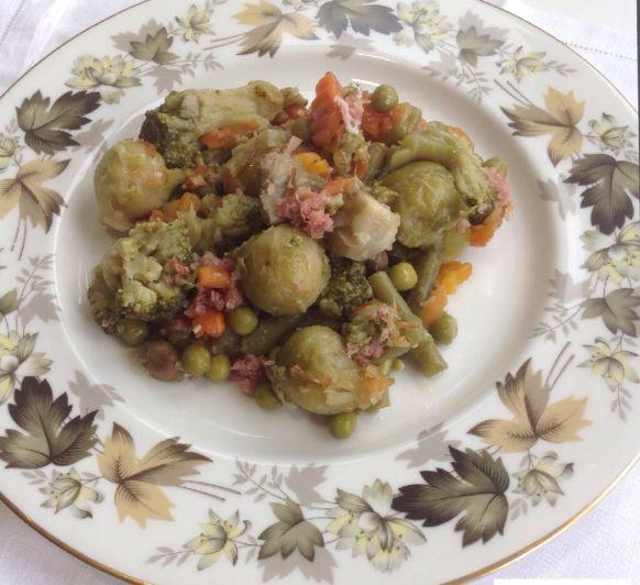 Menestra de verduras congeladas