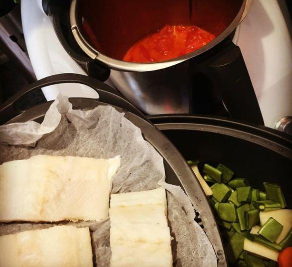 Cocinar en tres niveles MENU VIERNES