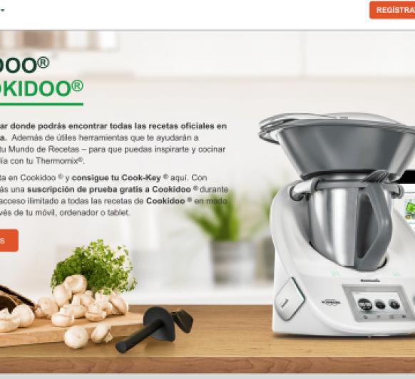 CÓMO FUNCIONA COOKIDOO,PLATAFORMA DE RECETAS DE Thermomix®