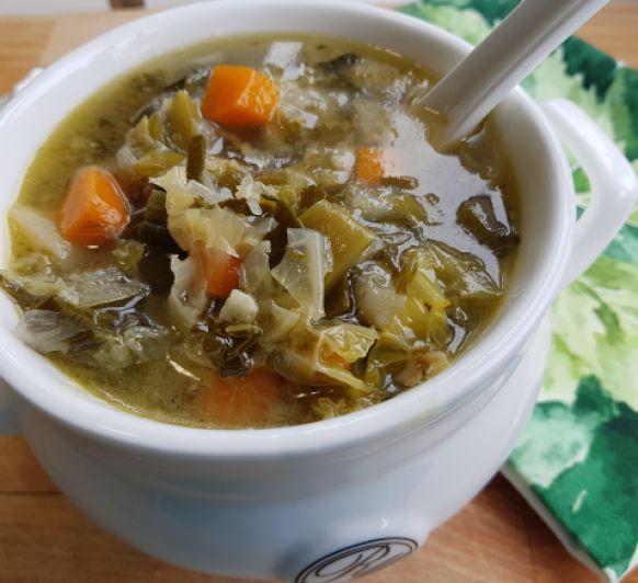 ¿Quieres una sopa sana? Sopa de verduras