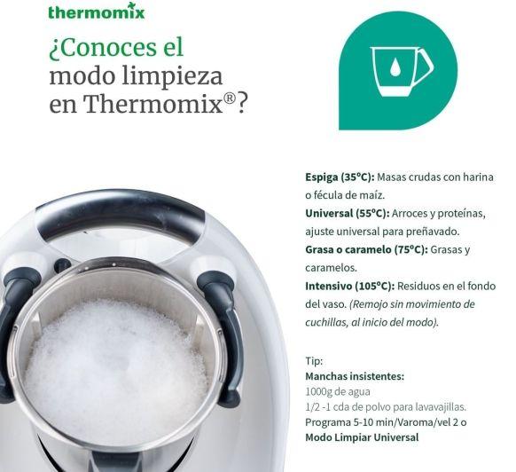Modo PRELAVADO en Thermomix®