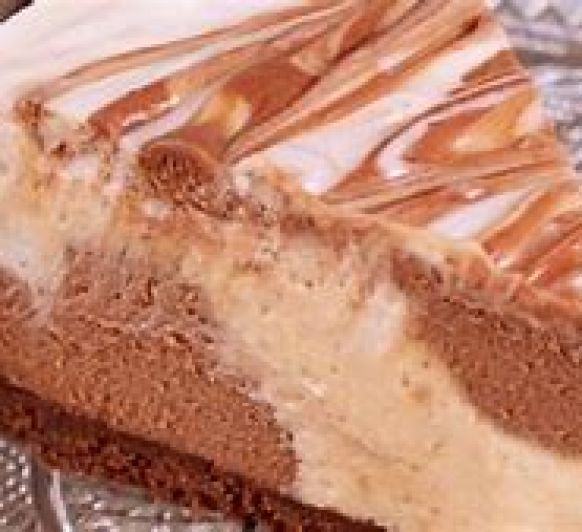 CHEESECAKE TURRON Y CHOCOLATE