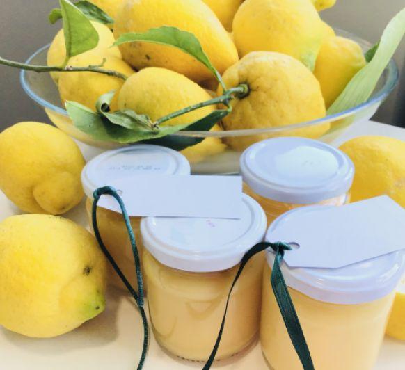 Crema de limón ''Lemon curd''