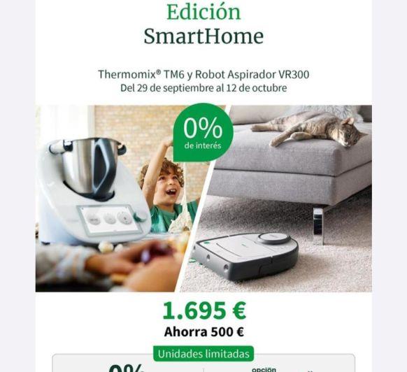 EDICION SMART HOME,! 2 ROBOTS A UN PRECIO INCREIBLE