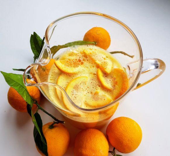 Zumo de naranja integral
