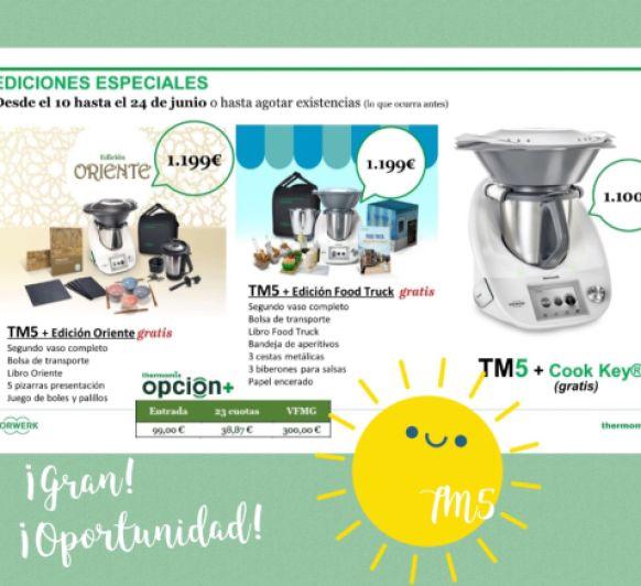 Ediciones Especiales TM5, ¡¡¡Beneficiate de la promoción!!!!