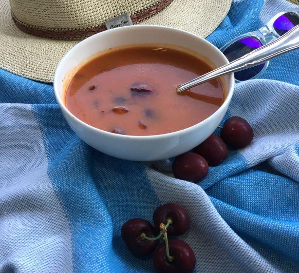 Gazpacho de cerezas maravillosas