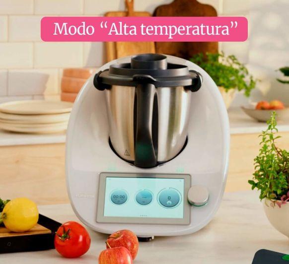 Modo ALTA TEMPERATURA en Thermomix®