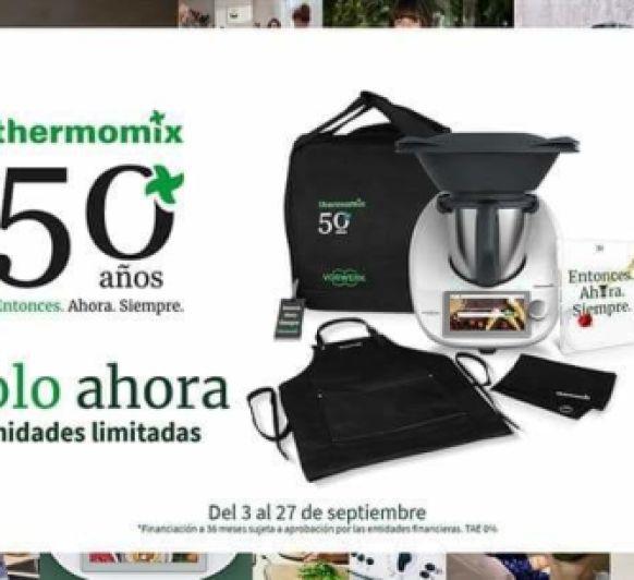 Talleres Thermomix® 50 Aniversario
