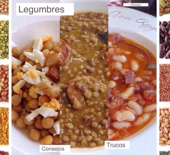 Cocción y tiempo de las legumbres en Thermomix®