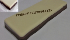 Turron 3 chocolates